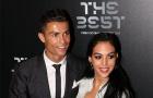 Những bóng hồng trong buổi lễ vinh danh Ronaldo