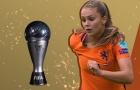 Nữ danh thủ Hà Lan và Barcelona giành danh hiệu The Best 2017