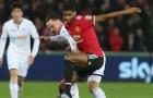 Marcus Rashford chơi đầy nỗ lực trước Swansea