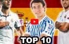 Top 10 tài năng trẻ triển vọng nhất bóng đá Tây Ban Nha