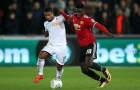 Sao trẻ Axel Tuanzebe vs Swansea