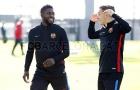 Vượt ải Bilbao, dàn sao Barca phơi phới trở lại tập luyện