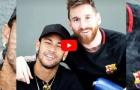 Neymar lại trở về Barca, thăm Messi và Suarez