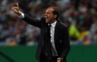 Allegri nổi khùng với phong độ tệ hại của Juventus