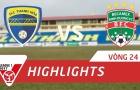 FLC Thanh Hóa 1-1 Becamex Bình Dương (Vòng 24 V-League 2017)