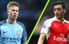5 điểm nóng Man City - Arsenal: De Bruyne & Ozil, đi tìm chân chuyền số 1