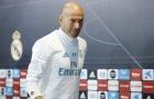 Zidane: Dù sao tôi cũng không phải HLV tệ nhất thế giới lúc này