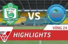 XSKT Cần Thơ 1-2 Sanna Khánh Hòa BVN (Vòng 24 V-League 2017)