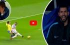 Phản ứng của các cầu thủ khi Karim Benzema bỏ lỡ cơ hội ngon ăn