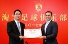 Cannavaro dẫn dắt đội vô địch Trung Quốc 7 lần liên tiếp