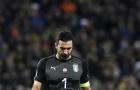 Buffon cúi gằm mặt khi sắp lỗi hẹn với World Cup cuối cùng của sự nghiệp