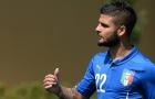 Insigne sẽ đá ở trung tâm trong trận đấu sinh tử của Italia