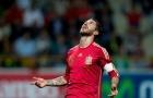 Sergio Ramos thể hiện ra sao vs Costa Rica?