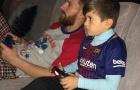 Messi 'luyện' FIFA cùng con trai Thiago