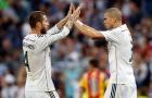 Sự kết hợp ăn ý giữa Pepe và Ramos
