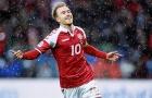 Hat-trick của Christian Eriksen vào lưới CH Ireland