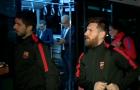 Dàn sao Barca hành quân đến ngoại ô Madrid