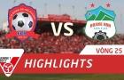 Hải Phòng 1-2 Hoàng Anh Gia Lai (Vòng 25 V-League 2017)