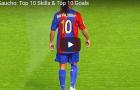 10 kỹ năng và bàn thắng tuyệt vời của Ronaldinho
