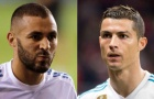 Benzema và Ronaldo tệ nhất lịch sử Real, chỉ hơn 1 đội ở châu Âu