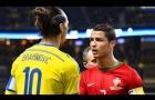Khi Cristiano Ronaldo và Zlatan Ibrahimovic cùng tạo nên lịch sử