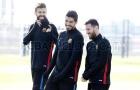 Messi và dàn sao Barca tươi rói trên sân tập, chờ hạ Juventus