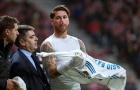Sergio Ramos thể hiện ra sao vs Atletico Madrid?