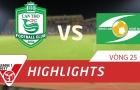XSKT Cần Thơ 1-2 Sông Lam Nghệ An (Vòng 25 V-League 2017)
