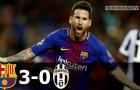 Trận cầu hấp dẫn, Barcelona 3-0 Juventus (lượt đi)