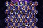 Real và Ronaldo 'đại phá' kỉ lục đội hình hay nhất năm 2017 của UEFA