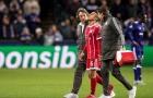 Bayern gặp nguy với chấn thương hai trụ cột
