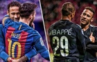So sánh Neymar khi đá cặp với Messi và Mbappe