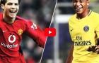 So sánh Cristiano Ronaldo và Kylian Mbappe năm 18 tuổi