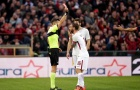 Thẳng tay tát đối thủ, De Rossi mang họa cho Roma