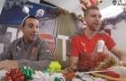 Nhìn lại không khí chuẩn bị Giáng Sinh của Arsenal vào năm ngoái