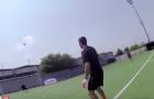 Buffon lốp bóng ghi bàn điệu nghệ trên sân tập