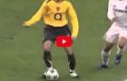 Thierry Henry solo ghi bàn như một vị thần trước mặt dàn sao Real