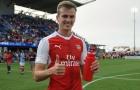 Rob Holding thăng tiến chóng mặt tại Arsenal