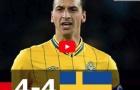 Trận cầu kinh điển: Thụy Điển 4-4 Đức (2012)