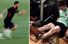 Các siêu sao tập luyện thế nào trong phòng gym?