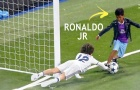 Kỹ thuật tuyệt vời của con trai Cristiano Ronaldo