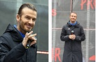 David Beckham lộ 'tuổi già' khi dự sự kiện tại Thượng Hải