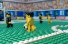Trận cầu căng thẳng giữa Juventus và Napoli theo phong cách Lego
