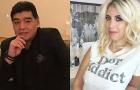 Vợ Icardi 'khẩu chiến' với Maradona trên mạng xã hội