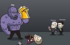 Biếm họa NH Anh theo trailer 'Avengers: Infinity War' đang gây sốt