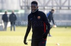 Dembele chính thức trở lại tập luyện, Barca như 'hổ mọc thêm cánh'