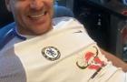 John Terry hớn hở khi trở lại Chelsea điều trị chấn thương