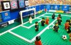 Trận đấu giữa Bayern và PSG theo phong cách Lego