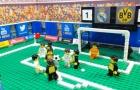 Trận đấu giữa Real và Dortmund theo phong cách Lego