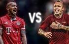 Arturo Vidal vs Radja Nainggolan: Ai 'trâu' hơn?